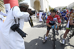 February 14, 2018 - Muscat, Oman - MUSCAT, SULTANATE OF OMAN - FEBRUARY 14 : COQUARD Bryan of Vital Concept Cycling Club during stage 2 of the 9th edition of the 2018 Tour of Oman cycling race, a stage of 167.5 kms between Sultan Qaboos University and Al Bustan on February 14, 2018 in Muscat, Sultanate Of Oman, 14/02/2018 (Credit Image: © Panoramic via ZUMA Press)