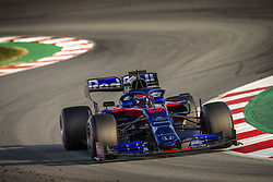 February 20, 2019 - Barcelona, Spain - 26 KVYAT Daniil (rus), Scuderia Toro Rosso Honda STR14, action during Formula 1 winter tests from February 18 to 21, 2019 at Barcelona, Spain - Photo  /  Motorsports: FIA Formula One World Championship 2019, Test in Barcelona, (Credit Image: © Hoch Zwei via ZUMA Wire)
