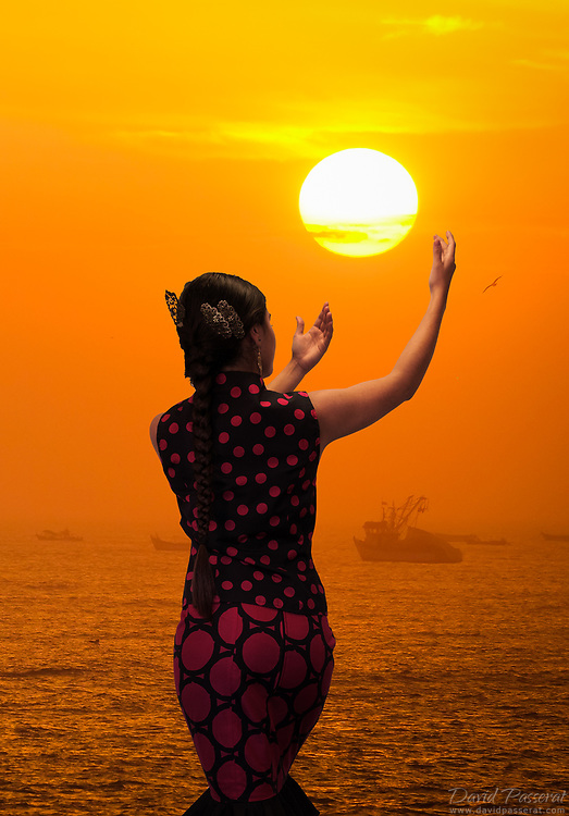 Reaching to the sun