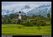 Bavarian Countryside Near Munich<br /> Germany<br /> May 2014