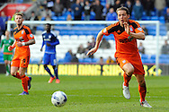 Ipswich's Christophe Berra in action. Skybet football league championship match, Cardiff city v Ipswich Town at the Cardiff city stadium in Cardiff, South Wales on Saturday 12th March 2016.<br /> pic by Carl Robertson, Andrew Orchard sports photography.