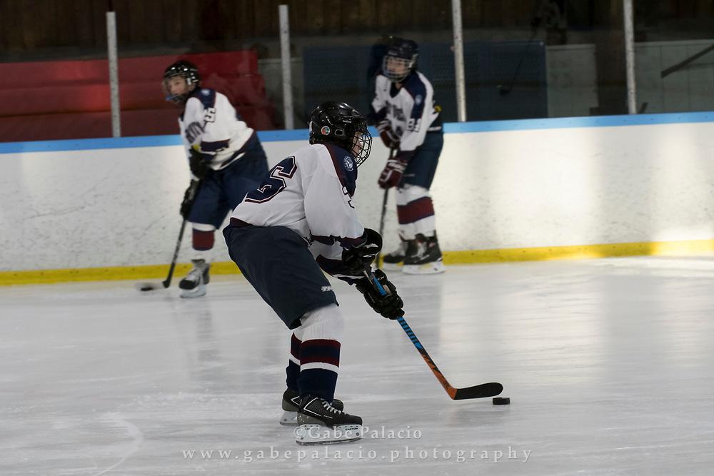 Middle School Ice Hockey at the Harvey School on December 14, 2017. (photo by Gabe Palacio)