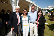 The Dalwhinnie Crook  charity Polo match  at Longdole  Polo Club, Birdlip  hosted by the Halcyon Gallery. . 12 June 2010. -DO NOT ARCHIVE-© Copyright Photograph by Dafydd Jones. 248 Clapham Rd. London SW9 0PZ. Tel 0207 820 0771. www.dafjones.com.