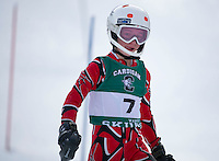 Proctor Academy High School alpine ski race February 20, 2013.  Karen Bobotas Photographer
