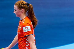 Dione Housheer of Netherlandsduring the Women's EHF Euro 2020 match between Netherlands and Germany at Sydbank Arena on december 14, 2020 in Kolding, Denmark (Photo by RHF Agency/Ronald Hoogendoorn)