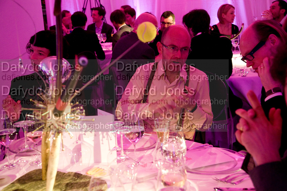 WAYNE HEMINGWAY, brit Insurance Design Awards 2009. Design Museum. London. 18 March 2009. *** Local Caption *** -DO NOT ARCHIVE-© Copyright Photograph by Dafydd Jones. 248 Clapham Rd. London SW9 0PZ. Tel 0207 820 0771. www.dafjones.com.<br /> WAYNE HEMINGWAY, brit Insurance Design Awards 2009. Design Museum. London. 18 March 2009.