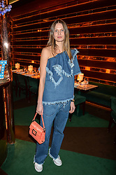 VICTORIA SEKRIER at a dinner hosted by Roger Vivier to celebrate The Prismick Denim by Camillle Seydoux held at Casa Cruz, 123 Clarendon Road, London on 17th March 2016.