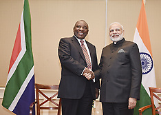 Pretoria - Indian Prime Minister Modi Visits South Africa - 08 July 2016