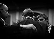 Roberto Giachetti, candidato sindaco a Roma per il Partito Democratico durante l'inaugurazione della sede del comitato elettorale di Roberto Giachetti, candidato sindaco a Roma per il Partito Democratico, Roma 14 Aprile 2016. Christian Mantuano / OneShot