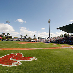 February 28, 2011; Fort Myers, FL, USA; A general view prior to a spring training exhibition game between the Minnesota Twins and the Boston Red Sox at City of Palms Park.  Mandatory Credit: Derick E. Hingle-US PRESSWIRE
