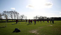 Photo: Paul Thomas.<br />Manchester United training session. UEFA Champions League. 06/03/2007.<br />Man Utd train at Carrington ahead of their game against Lille.