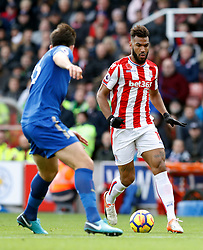 Stoke City's Eric Maxim Choupo-Moting in action