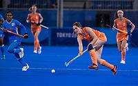 TOKIO - Marloes Keetels (NED)  tijdens de wedstrijd dames , Nederland-India (5-1) tijdens de Olympische Spelen   .   COPYRIGHT KOEN SUYK