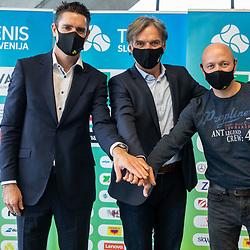 20210218: SLO, Tenis - Novinarska konferenca WTA Portoroz 2021