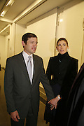 glenn fuhrman and his fiance Andrea Olshan. Ellsworth Kelly exhibition opening. Serpentine Gallery and afterwards at the River Cafe. London. 17 March 2006. ONE TIME USE ONLY - DO NOT ARCHIVE  © Copyright Photograph by Dafydd Jones 66 Stockwell Park Rd. London SW9 0DA Tel 020 7733 0108 www.dafjones.com