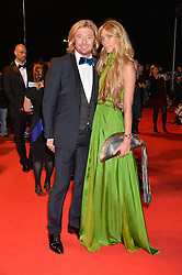 NICKY CLARKE and KELLY SIMPKIN at Battersea Dogs & Cats Home's Collars & Coats Gala Ball held at Battersea Evolution, Battersea Park, London on30th October 2014.
