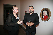 Mary Rittmann and Masoud Golsorkhi, Maricopa Partnership for Arts and Culture,  Arizona Office of Tourism, and Arizona Department of Commerce<br /> In association with the Architecture Foundation and Blueprint magazine host Phoenix: 21st Century City , Serpentine Gallery, London. 12 March 2007.  -DO NOT ARCHIVE-© Copyright Photograph by Dafydd Jones. 248 Clapham Rd. London SW9 0PZ. Tel 0207 820 0771. www.dafjones.com.