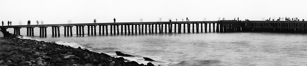 Presidio Fishermen. San Francisco.