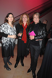 Left to right, ALEXANDRA SHULMAN, CAMILLA LOWTHER and NICKY HASLAM at the opening party for 'Face of Fashion' an exhibition of photographs by five of the World's leading fashion photographers held at the National Portrait Gallery, St.Martin's Lane, London on 12th February 2007.<br /><br />NON EXCLUSIVE - WORLD RIGHTS