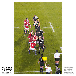 British & Irish Lions;New Zealand Maori at the British & Irish Lions v. New Zealand Maori Match at Waikato Stadium, Hamilton, New Zealand.<br />