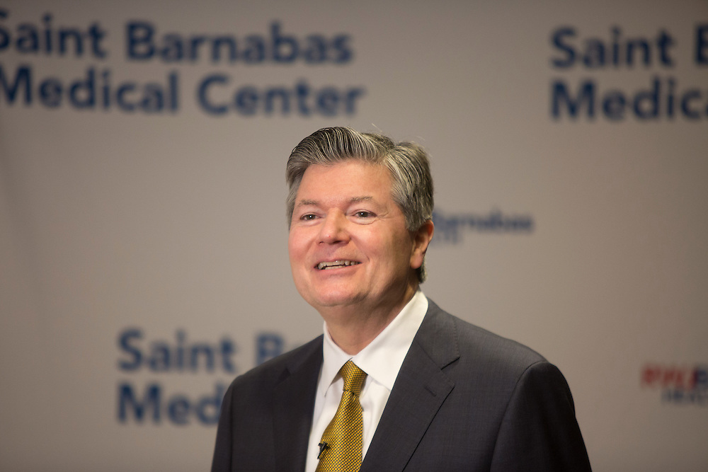 RWJ Barnabas Health doctor prentation.  2/22/17 Photo by John O'Boyle