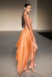 November 27, 2016 - Sevilla, Spain - A model walks during Hanibal Laguna fashion show in Sevilla, Spain, on November 27, 2016. (Credit Image: © David Carbajo/NurPhoto via ZUMA Press)