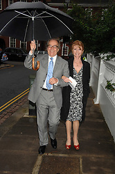 GERALD SCARFE and his wife actress JANE ASHER at the annual Sir David & Lady Carina Frost Summer Party in Carlyle Square, London SW3 on 5th July 2007.<br /><br />NON EXCLUSIVE - WORLD RIGHTS