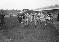H529<br /> Tailteann Games. Runners. 1924. (Part of the Independent Newspapers Ireland/NLI Collection)