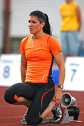 Athlete Radmila Vukmirovic at 2nd Memorial Meeting of Matic Sustersic, on June 3, 2007, Ljubljana, Slovenia.   (Photo by Vid Ponikvar / Sportal Images).