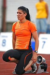Athlete Radmila Vukmirovic at 2nd Memorial Meeting of Matic Sustersic, on June 3, 2007, Ljubljana, Slovenia.   (Photo by Vid Ponikvar / Sportal Images).