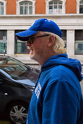 """BBC Radio 2 presenter Chris Evans arrives  to present the Breakfast Show the morning after His mother died. Evans had said in a statement released yesterday """"If Mum had the first idea  I might not have shown up today because of her she'd have been furious. I hope you all have a lovely Thursday. See you tomorrow."""" London, May 04 2018."""