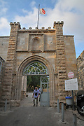 Israel, Jerusalem, St. John the Baptist church, John BaHarim, in Ein-Kerem. built in the second half of the 19th century on the remnants of earlier Byzantine and Crusader churches.