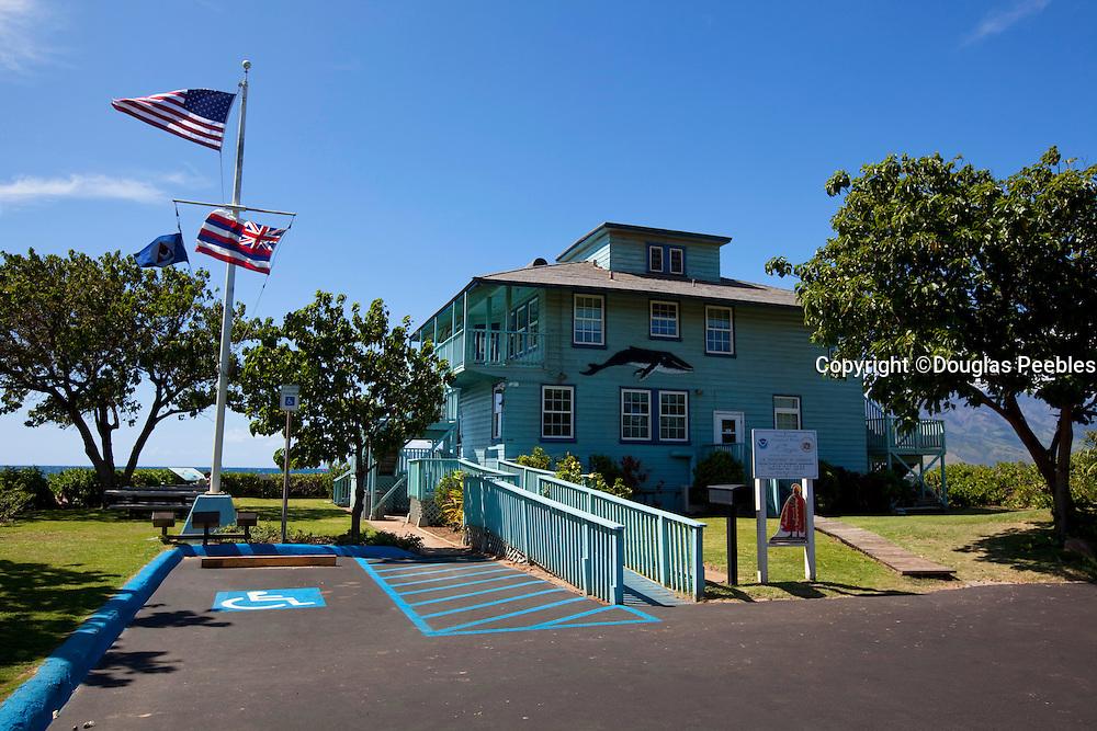 NOAA station, whale center, Kalama Beach Park, Maui, Hawaii