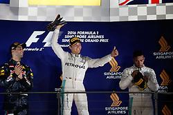 September 18, 2016 - Singapur, Singapur - Motorsports: FIA Formula One World Championship 2016, Grand Prix of Singapore, .#6 Nico Rosberg (GER, Mercedes AMG Petronas Formula One Team) (Credit Image: © Hoch Zwei via ZUMA Wire)