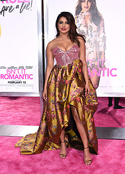 """Matt Lucas at the """"Isn't It Romantic"""" world premiere held at The Theatre at Ace Hotel on February 11, 2019 in Los Angeles, CA. © Tammie Arroyo / AFF-USA.com. 11 Feb 2019 Pictured: Priyanka Chopra. Photo credit: MEGA TheMegaAgency.com +1 888 505 6342"""