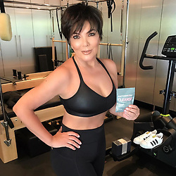 """Kris Jenner releases a photo on Instagram with the following caption: """"#ad People always ask me how I stay in shape and looking so good. I detox regularly, especially pre-summer. @flattummytea is my this year's summer must-have and uhhh, I feel amazing (go get some today, there\u2019s a 20% off sale on!)"""". Photo Credit: Instagram *** No USA Distribution *** For Editorial Use Only *** Not to be Published in Books or Photo Books ***  Please note: Fees charged by the agency are for the agency's services only, and do not, nor are they intended to, convey to the user any ownership of Copyright or License in the material. The agency does not claim any ownership including but not limited to Copyright or License in the attached material. By publishing this material you expressly agree to indemnify and to hold the agency and its directors, shareholders and employees harmless from any loss, claims, damages, demands, expenses (including legal fees), or any causes of action or allegation against the agency arising out of or connected in any way with publication of the material."""