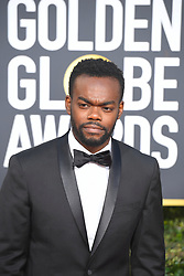 January 6, 2019 - Los Angeles, California, U.S. - William Jackson Harper during red carpet arrivals for the 76th Annual Golden Globe Awards at The Beverly Hilton Hotel. (Credit Image: © Kevin Sullivan via ZUMA Wire)