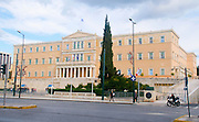 New Parliament building,  Syntagma Square, Athens, Greece