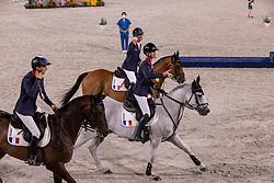 Team France, Touzaint Nicolas, Laghouag Karim Florent, Six Christopher<br /> Olympic Games Tokyo 2021<br /> © Hippo Foto - Dirk Caremans<br /> 02/08/2021