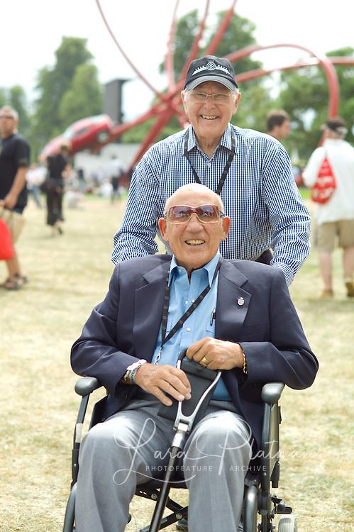 Murray Walker, Sir Stirling Moss,