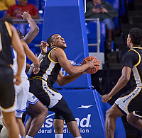 Southern Miss Golden Eagles forward Boban Jacdonmi (13) during the Southern Mississippi Golden Eagles at Middle Tennessee Blue Raiders college basketball game in Murfreesboro, Tennessee, Saturday, March, 7, 2020.<br /> Photo: Harrison McClary/All Tenn Sports