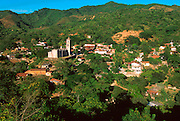 MEXICO, PACIFIC COAST, SINALOA STATE Copala, half abandoned mining town set in lush foliage inland from Mazatlan