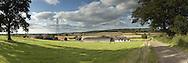 Thames Valley farm near Cumnor, Oxfordshire, UK