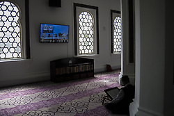 June 6, 2017 - Kuala Lumpur, Malaysia - A muslim man recite the Holy Quran in a Jamek mosque during the Holy month of ramadan at Malaysia , Ramadan the Holiest month on Islamic calendar , Muslims refrain from eating , drinking from dawn until sunset , 6 june 2017  (Credit Image: © Mustaqim Khairuddin/NurPhoto via ZUMA Press)