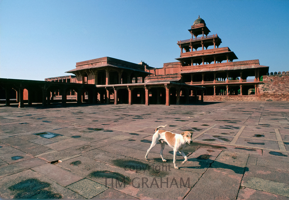 Fatehpur Sikri 17th Century city capital of Mughal Empire UNESCO WORLD HERITAGE site, Agra district, Uttar Pradesh, India