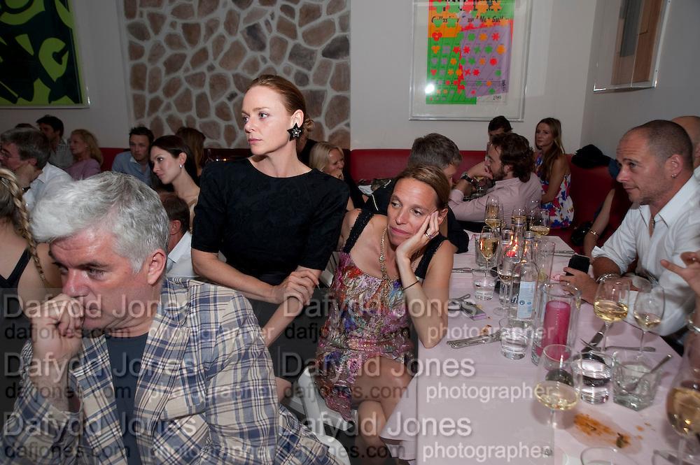 STELLA MCCARTNEY; TIPHAINE DE LUSSIS, Prada Congo Benefit party. Double Club. Torrens Place. Angel. London. 2 July 2009.