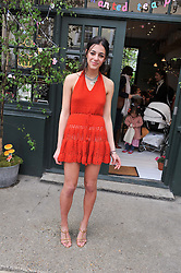 KIKI KARAYIANNIS at the launch of the Natalia Dress, inspired by Natalia Vodianova to benefit her Naked Heart Foundation held at Caramel Baby&Child, 77 Ledbury Road, London W11 on 16th May 2012.