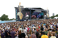 Live 8 Concert Crowd GV Dave Nelson