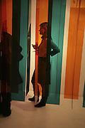 JEN LEUTNER, ' Le Rivage des Syrtes' Exhibition of work by Sam Kaprielov. Riflemaker Gallery. Beak St. Soho. London. 26 February 2007.  -DO NOT ARCHIVE-© Copyright Photograph by Dafydd Jones. 248 Clapham Rd. London SW9 0PZ. Tel 0207 820 0771. www.dafjones.com.