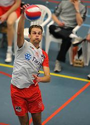 18-02-2012 VOLLEYBAL: TAUW GEMINI S - VOCASA: HILVERSUM<br /> B League heren, VoCASA wint vrij eenvoudig in Hilversum 22-25, 20-25, 22-25 / Pepijn Lochtenberg<br /> ©2012-FotoHoogendoorn.nl